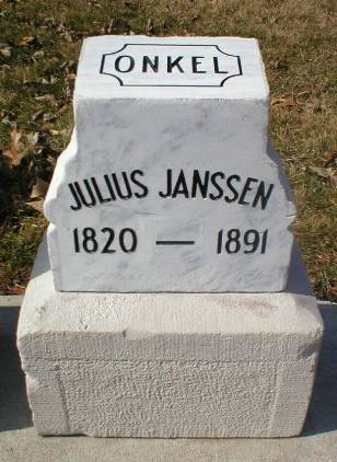 JANSSEN, JULIUS - Scott County, Iowa | JULIUS JANSSEN
