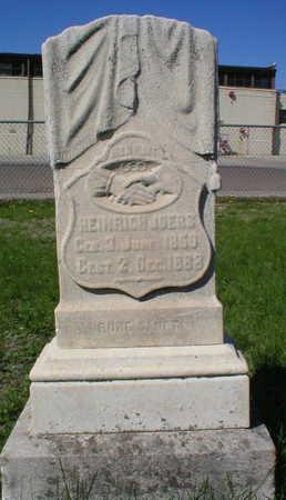 JOERS, HEINRICH - Scott County, Iowa   HEINRICH JOERS
