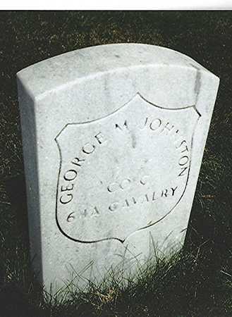 JOHNSTON, GEORGE M. - Scott County, Iowa | GEORGE M. JOHNSTON