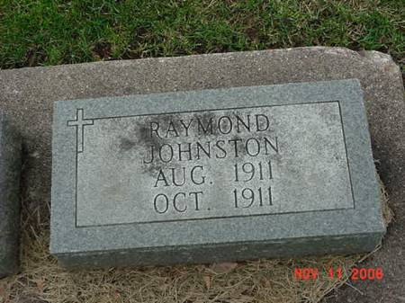 JOHNSTON, RAYMOND - Scott County, Iowa | RAYMOND JOHNSTON