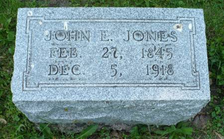 JONES, JOHN E. - Scott County, Iowa | JOHN E. JONES