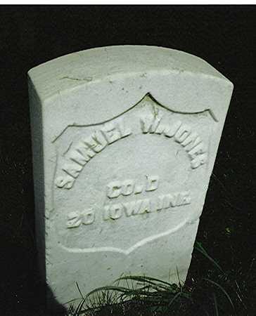 JONES, SAMUEL W. - Scott County, Iowa   SAMUEL W. JONES