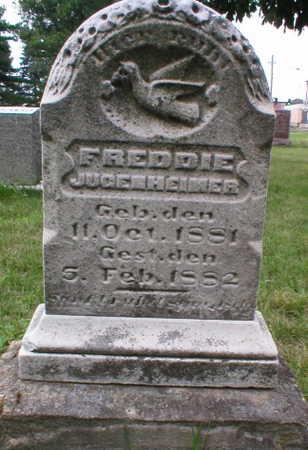 JUGENHEIMER, FREDDIE - Scott County, Iowa | FREDDIE JUGENHEIMER