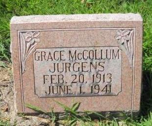 MCCOLLUM JURGENS, GRACE - Scott County, Iowa | GRACE MCCOLLUM JURGENS