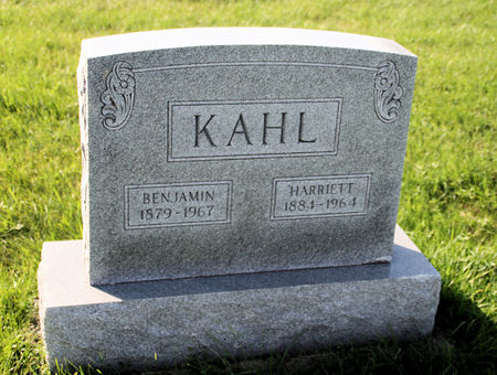 KAHL, BENJAMIN - Scott County, Iowa | BENJAMIN KAHL