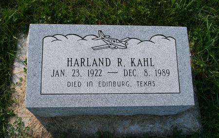KAHL, HARLAND R. - Scott County, Iowa | HARLAND R. KAHL