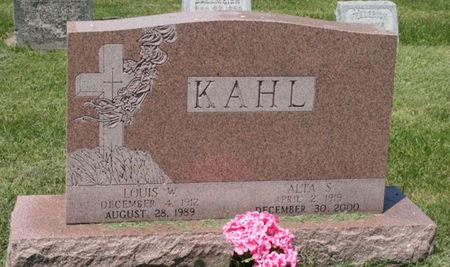 KAHL, ALTA S. - Scott County, Iowa | ALTA S. KAHL