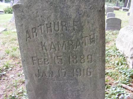 KAMRATH, ARTHUR - Scott County, Iowa | ARTHUR KAMRATH