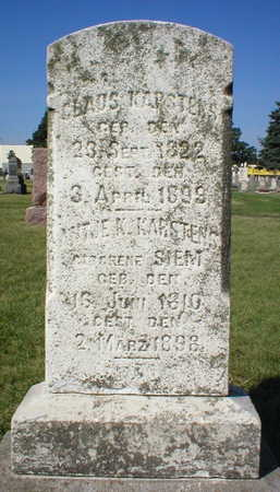 KARSTENS, ANTJE K. - Scott County, Iowa | ANTJE K. KARSTENS