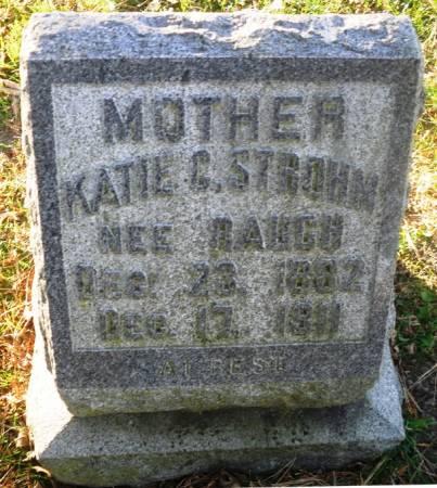 RAUGH STROHM, KATIE G. - Scott County, Iowa | KATIE G. RAUGH STROHM
