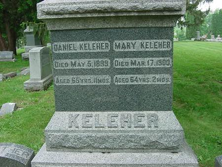 KELEHER, MARY - Scott County, Iowa | MARY KELEHER