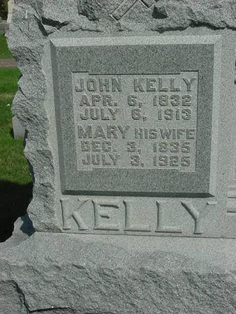 KELLY, JOHN - Scott County, Iowa | JOHN KELLY
