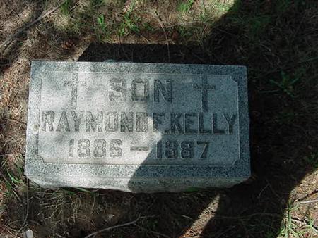 KELLY, RAYMOND F - Scott County, Iowa | RAYMOND F KELLY