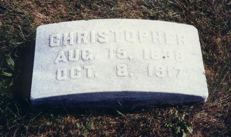 KENSINGER, CHRISTOPHER - Scott County, Iowa | CHRISTOPHER KENSINGER