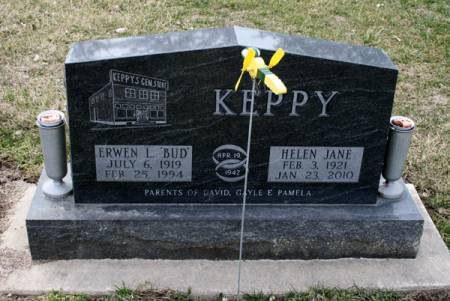 ROCHAU KEPPY, HELEN JANE - Scott County, Iowa | HELEN JANE ROCHAU KEPPY