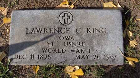 KING, LAWRENCE C. - Scott County, Iowa | LAWRENCE C. KING