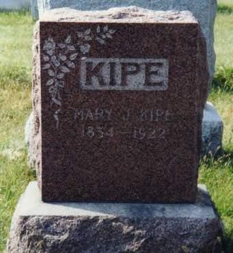 KIPE, MARY J. - Scott County, Iowa | MARY J. KIPE