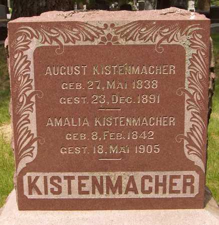 KISTENMACHER, AUGUST - Scott County, Iowa | AUGUST KISTENMACHER