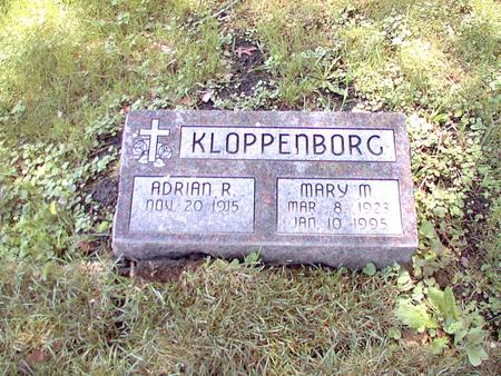 KLOPPENBORG, MARY M - Scott County, Iowa | MARY M KLOPPENBORG