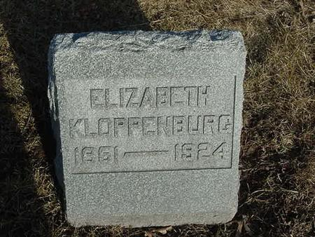 KLOPPENBURG, ELIZABETH - Scott County, Iowa | ELIZABETH KLOPPENBURG