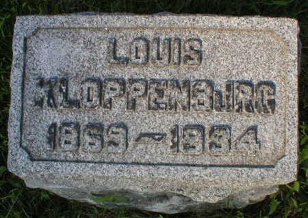 KLOPPENBURG, LOUIS - Scott County, Iowa | LOUIS KLOPPENBURG