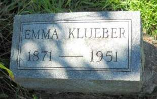 KLUEBER, EMMA - Scott County, Iowa | EMMA KLUEBER