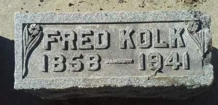 KOLK, FRED - Scott County, Iowa | FRED KOLK