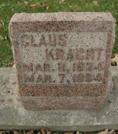KRACHT, CLAUS - Scott County, Iowa | CLAUS KRACHT