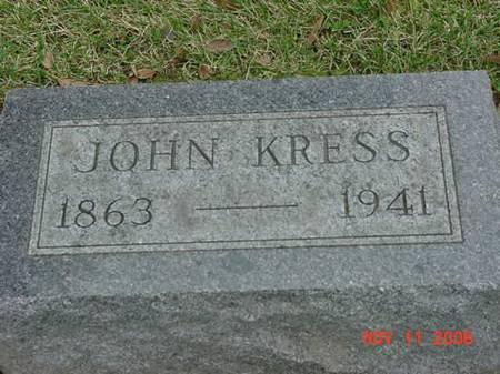 KRESS, JOHN - Scott County, Iowa | JOHN KRESS