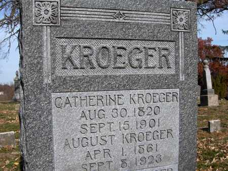 KROEGER, AUGUST - Scott County, Iowa | AUGUST KROEGER