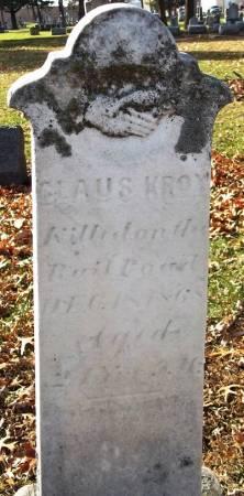 KROY, CLAUS - Scott County, Iowa | CLAUS KROY