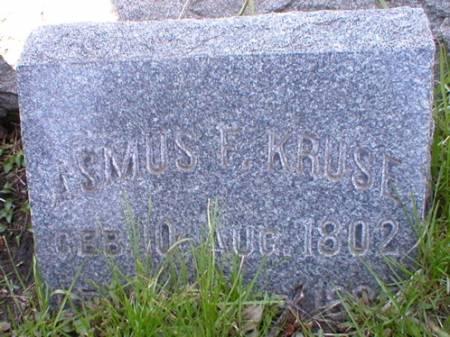 KRUSE, ASMUS - Scott County, Iowa   ASMUS KRUSE
