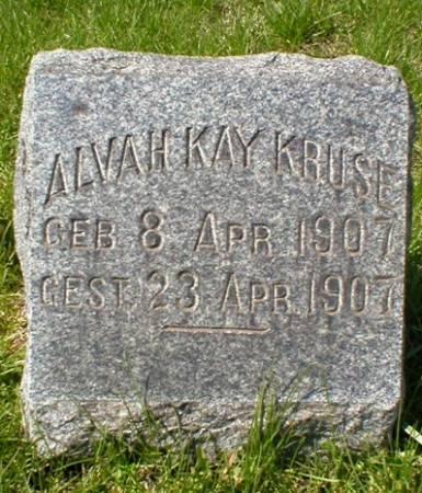 KRUSE, ALVAH KAY - Scott County, Iowa | ALVAH KAY KRUSE