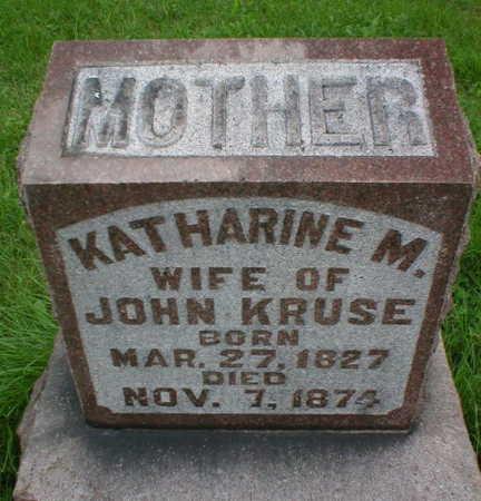 KRUSE, KATHRINE M. - Scott County, Iowa | KATHRINE M. KRUSE