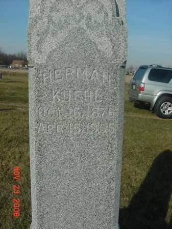 KUEHL, HERMAN - Scott County, Iowa   HERMAN KUEHL
