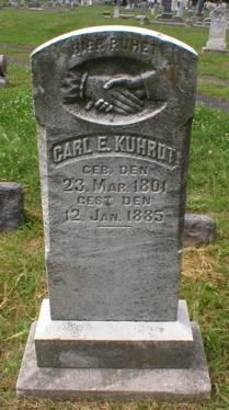 KUHRDT, CARL  E. - Scott County, Iowa   CARL  E. KUHRDT