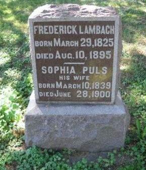 LAMBACH, FREDERICK - Scott County, Iowa | FREDERICK LAMBACH