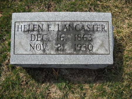 LANCASTER, HELEN  E - Scott County, Iowa | HELEN  E LANCASTER