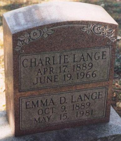 LANGE, CHARLIE - Scott County, Iowa | CHARLIE LANGE