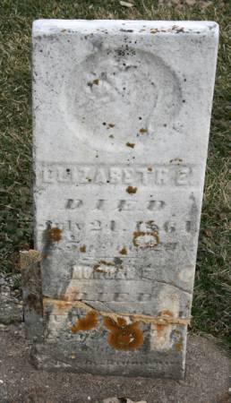 LATHROP, ELIZABETH E. - Scott County, Iowa | ELIZABETH E. LATHROP