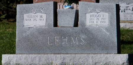 LEHMS, HUGO F - Scott County, Iowa | HUGO F LEHMS