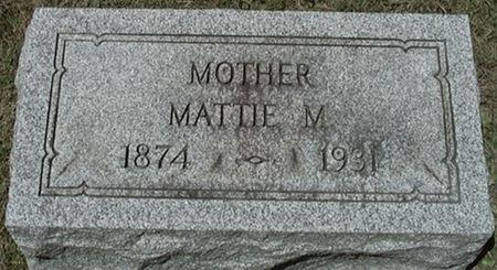 MISFELDT LENSCH, MATTIE - Scott County, Iowa | MATTIE MISFELDT LENSCH
