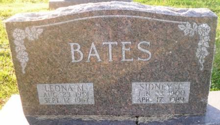 BATES, LEONA M. - Scott County, Iowa   LEONA M. BATES