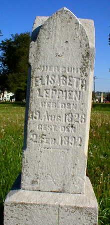 LEPPIEN, ELISABETH - Scott County, Iowa | ELISABETH LEPPIEN
