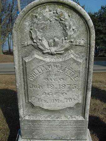 LITTLE, WILLIAM W - Scott County, Iowa | WILLIAM W LITTLE
