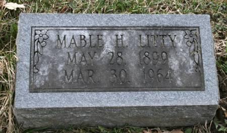 LITTY, MABLE H. - Scott County, Iowa   MABLE H. LITTY