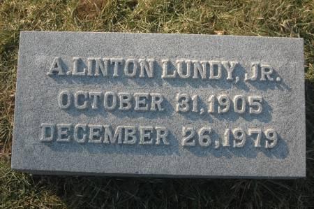 LUNDY, A. LINTON JR. - Scott County, Iowa   A. LINTON JR. LUNDY