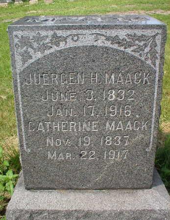 MAACK, JüRGEN H - Scott County, Iowa | JüRGEN H MAACK