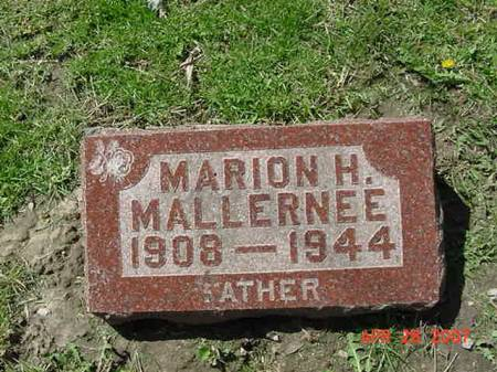 MALLERNEE, MARION H - Scott County, Iowa | MARION H MALLERNEE