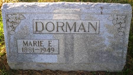 DORMAN, MARIE E. - Scott County, Iowa | MARIE E. DORMAN